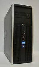 HP Elite 8200 Tower Intel QUAD i5-2400 3.10GHz 8GB Ram 500GB HD Windows 10 WiFi