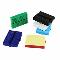 6 Color Mini Solderless Prototype Breadboard 170 Tie-points For 2017~ I9H6