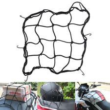 Motorcycle Bike 6 Hooks Hold Down Fuel Tank Helmet Luggage Net Mesh Web Bungee