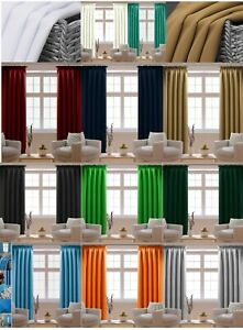 Ready Made Pair of Curtains Pencil Pleat Tape Top 2 Panels  SALE SALE SALE
