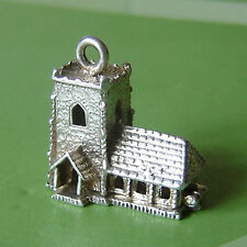 VINTAGE SILVER LARGE HALLMARKED OPENING CHURCH CHARM