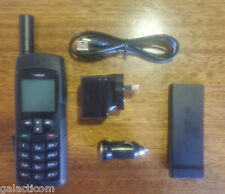 Iridium 9555 Satellite Phone with Warranty and latest May 2017 Firmware