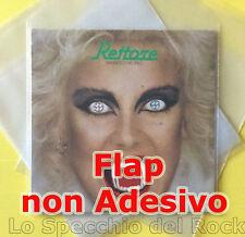 [ 100 BUSTE ] dischi VINILE 33 GIRI - PE spessore MY 100 con Flap  NO Adesivo -