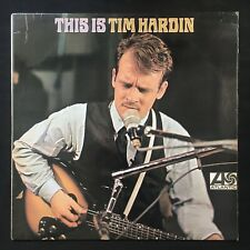 TIM HARDIN This Is Tim Hardin PLUM ATLANTIC 1967 UK 1st Press A1/B1 VINYL LP