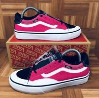 *NEW* Vans Authentic TNT Adv Prototype (Men Sizes) Skate Shoes Black Magenta