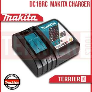 Genuine Makita DC18RC 7.2V 18V LXT Multi Voltage Compact Charger