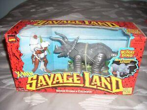 X-Men Savage Land action figures mutant dino Toy Biz MIB 1997