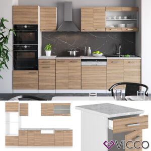 Cuisine Vicco R-Line 300 cm, cuisine intégrée, ensemble cuisine, cuisine