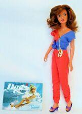 """1979-81 Kenner ERICA 12 1/2"""" Fashion Doll w/Original Outfit & DARCI Brochure"""
