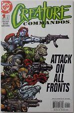 Creature Commandos #1 (May 2000, DC) Truman Eaton Kryssing (C1994)