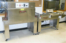 TeleSonic Packaging Shrink Tunnel and L-Bar Sealer - Stainless Steel - Brand New