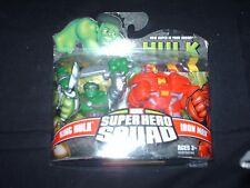 Superhero Squad 2 pack, KING HULK & Hulk Buster IRON MAN MOC Out of Production