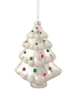 Bethany Lowe - Christmas - Oh Christmas Tree Glass Ornament - LO5656