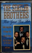 """THE STATLER BROTHERS...""""HOW GREAT THOU ART""""......OOP CASSETTE"""