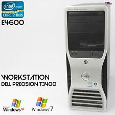 Pro Work Station Dell Precision T3400 Computer PC Parallel Lpt RS-232 Server 73
