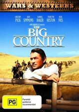 The Big Country DVD Gregory Peck Charlton Heston Jean Simmons Region 4 Aust