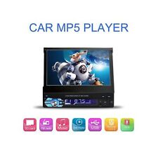 7 Inch Flip-Out HD TFT Touch Screen Single Din Car Stereo Bluetooth AUX/USB/T...