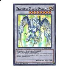 Yu-Gi-Oh! YuGiOh Stardust Spark Dragon - HSRD-EN043 - Super Rare 1st Edition