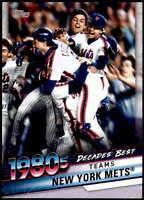 New York Mets 2020 Topps Decade's Best Series 2 5x7 #DB-55 /49