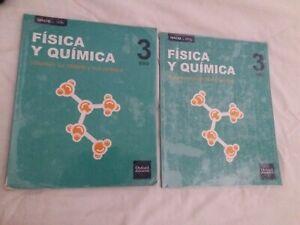 Libros 📚 Física Y Quimica 3 ESO Oxford Education. Forrados.