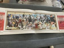 LPGA 2006 KRAFT NABISCO POSTER SIGNED BY 25 PAST CHAMPIONS w/Jsa