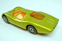 Matchbox Superfast Nr. 45A Ford Group 6 gelbgrün rarer grauer Motor