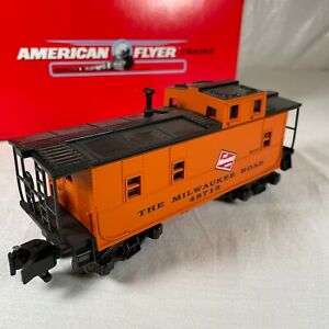 American Flyer # 6-49006 Milwaukee Road Animated Caboose - Untested - Needs Fix