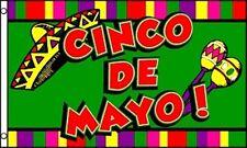 3'x5' CINCO DE MAYO Flag