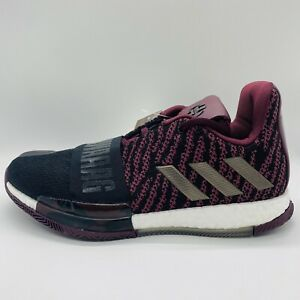 Adidas Harden Vol. 3 Playoffs Maroon Boost Basketball Shoes Mens Size:8.5 G54774
