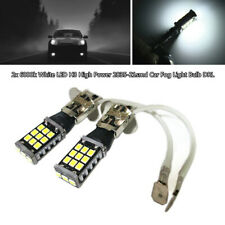 2x6000k 700lm White LED H3 High Power 2835-21smd 21W Car Fog Light Bulb DRL Lamp