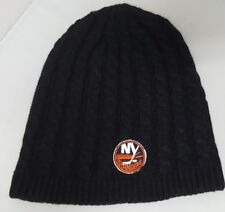 New York Islanders Reebok Black Beanie One Size Fits Most