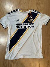 Adidas MLS LA GALAXY HOME JERSEY Sz L CE3296 White Soccer