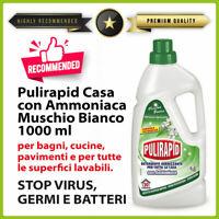 Detergente igienizzante sgrassante per l'igienizzazione di superfici e pavimenti