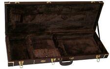 Hochwertiges E- Gitarre Case Koffer Gitarrenkoffer Holzkern für Tel+ Str Modelle