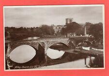 Abbey Church & Bridge Haddington RP pc  unused Valentines XL Ref S293