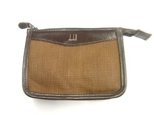 Dunhill Brown Cigarette Packet Pouch