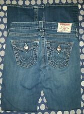 True Religion Women's Jeans Size 25 Low Waist Boot Cut