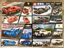 LEGO Speed Champions 75890 Ferrari 75892 McLaren 75891 Chevrolet 75895 Porsche