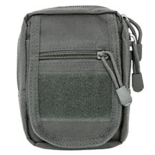 NcSTAR Small Utility Multi-Purpose Tool Phone MOLLE Pouch Urban Gray CVSUP2934U