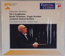 BRAHMS: 4 Symphonies, Haydn Variations, Tragic SZELL Sony Boxset CD