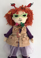 "Madame Alexander Explorer Fancy Nancy Plush Rag Doll 20"""