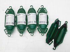5-Pack Twist N Seal Mini Weather Resistant Cord Lock Plug & Cord Protector