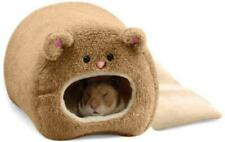 Pixnor Rats Hamster Winter Warm Fleece Hanging Cage Hammock Cute Bear House with