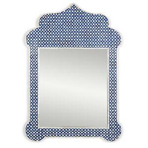Bone Inlay Mirror Frame, Antique Handmade Frame, Wooden Frame With Mirror