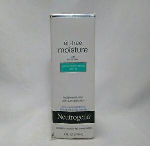 Neutrogena Oil Free Moisture Facial Moisturizer SPF15 4 Oz