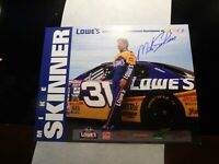MIKE SKINNER NASCAR AUTOGRAPH PROMO PHOTOGRAPH!   FF372DSH2