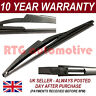 "FOR FIAT BRAVO (2007-) HATCHBACK 11"" 290MM REAR BACK WINDSCREEN WIPER BLADE"