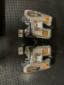 2016 Ford F150 OEM Headlamps and Fog Lights