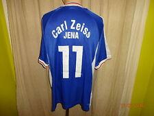 """Fc Carl Zeiss Jena fan World matchworn camiseta 2000/01 """"dreba"""" + nº 11 talla XL"""