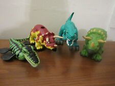 Imaginext 4 Dinosaur Lot Triceratops Allosaurus Plesiosaur 2011 2012 2006 Fisher
